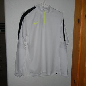 Nike Dri Fit Tech Pullover Top Jacket Warm Up Zip